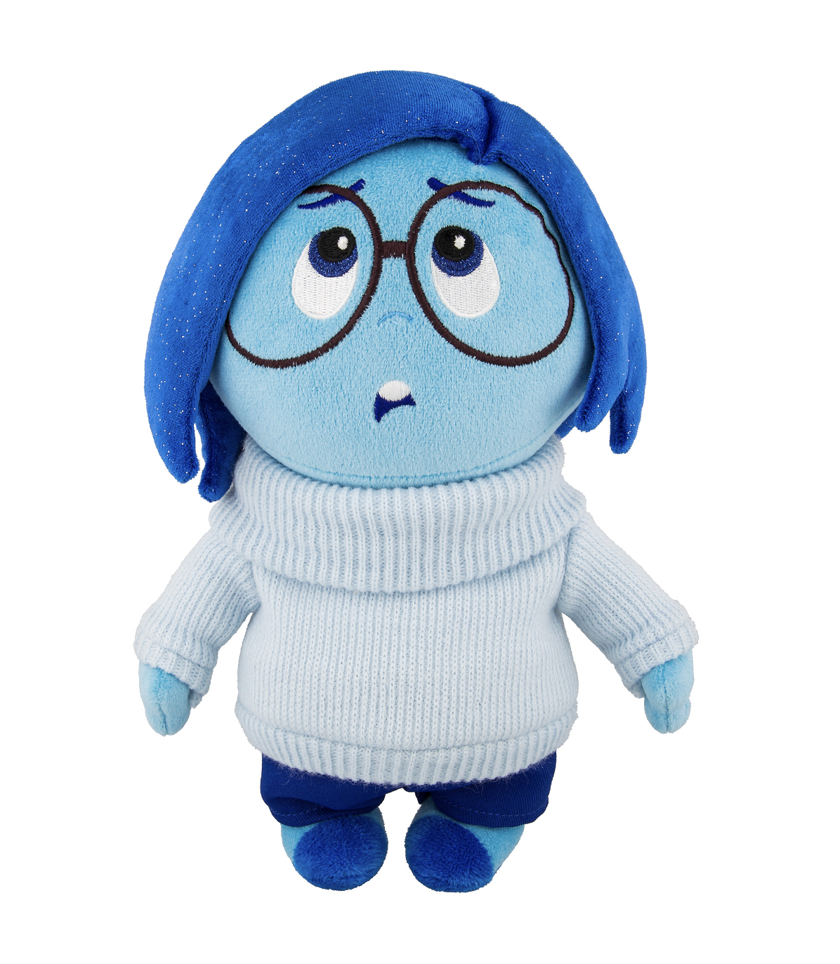 "Disney Parks Inside Out Sadness Plush 10"" New with Tags"