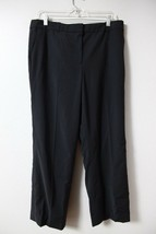 Ann Taylor Sz 12P Dress Pants Womens Petites Career Business Black Church - $10.16
