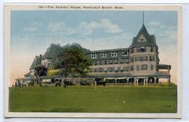 The Atlantic House Nantasket Beach Massachusetts 1920s postcard - $6.39