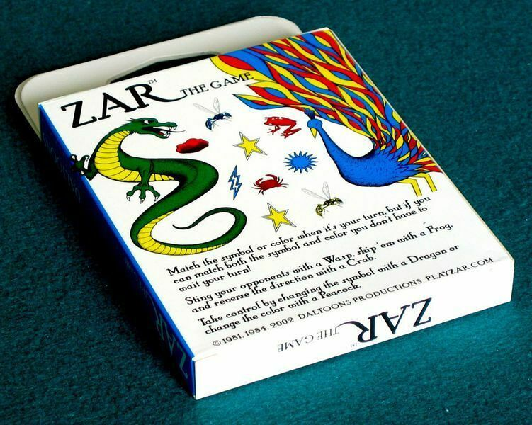 Primary image for Zar Card Game (Fast UNO)