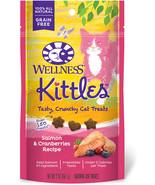 Wellness Kittles Natural Grain Free Cat Treats, Salmon and Cranberries, ... - $5.99+