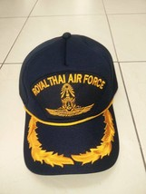 Logo Wing Gold Color Sp Royal Thai Air Force Cap Ball Soldier Military Rtaf Hat - $23.38