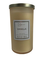 Mainstays Vanilla Frosted Glass Single-Wick Candle, 19 oz. - $19.30