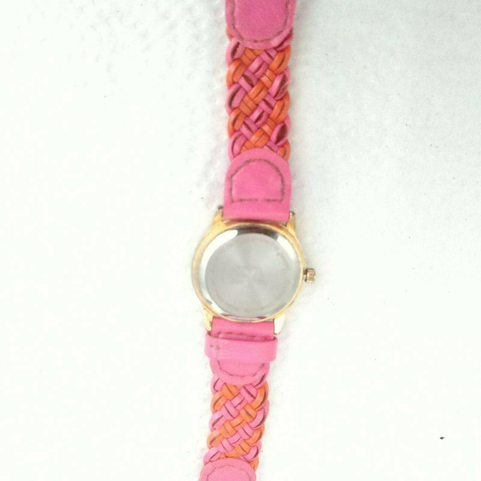 Time4Kidz Watch - Valdawn Vintage Water ressistant  Pink Leather Strap image 8