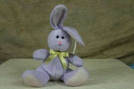 "Ty Beanie Baby 2008 Heather The Lavender Bunny Plush With Tags 6.5"" - $7.43"