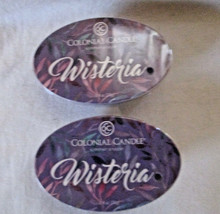 2 Colonial Candle Snaps/Tarts~~WISTERIA~~for simmer pots - $7.00