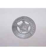 VINTAGE HILDA GOGGIN BECHTEL GOOD LUCK LUCKY TOKEN COIN SARANAC LAKE NY - $7.91