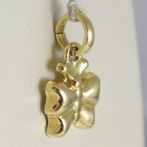Yellow Gold Pendant 750 18k, Butterfly Domed, Pendant, Length 1.8 CM image 2