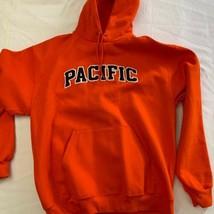 Pacific University BOXERS  Champion Vintage Hooded Sweatshirt  sz XL - $26.60