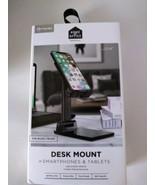 Smartphone Tablet Desk Mount Holder Adjustable Weight Base Extends Heigh... - $19.95