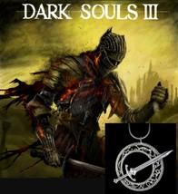 Dark Souls 3 Necklace, Pendant, Blade Of The Dark Moon, Sword - $5.89