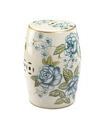 Antique Floral Garden Stool - $99.40
