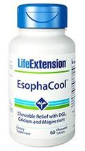 3 PACK Life Extension Esophacool chewable tablets digestion stomach magnesium - $26.17