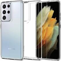 Samsung Galaxy S21 Ultra Case 2021 TPU Bumper Ultra Hybrid Crystal Clear Cover - $19.79