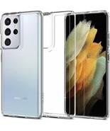 Samsung Galaxy S21 Ultra Case 2021 TPU Bumper Ultra Hybrid Crystal Clear... - $19.79