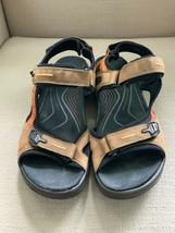 ECCO Yucatan Offroad Brown Tan Sporty Sandals Mens US 11 EUR 45 - $32.71
