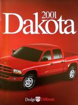 2001 Dodge DAKOTA sales brochure catalog 01 Sport SLT R/T  - $8.00