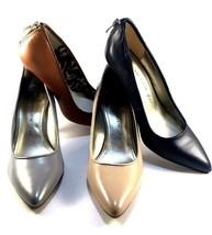 Anne Klein Falicia Gryle Leather Pointy Stiletto Dressy Pumps  - $34.50