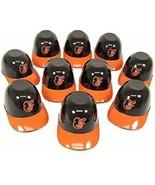 10 MLB Baltimore Orioles Current Logo Mini Batting Helmet Ice Cream Snac... - $26.99