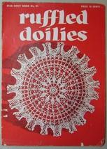 Coats & Clarks Ruffled Doilies Book No. 95 - $4.90