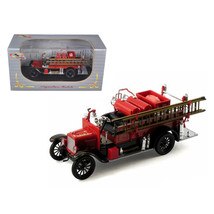 1926 Ford Model T Fire Engine Red/Black 1/32 Diecast Model Car by Signat... - $32.30
