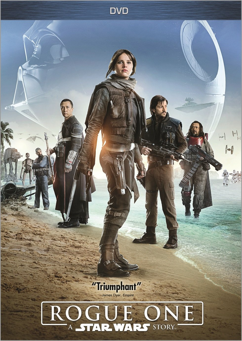 Rogue One: A Star Wars Story (2017, DVD)