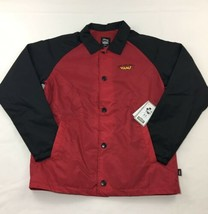 Vans X Disney The Original Mickey Mouse Coaches Jacket Boys Youth Size M... - $34.60