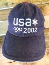 USA 2002 Olympics United States Flag Adjustable Adult Hat Cap  - $12.86