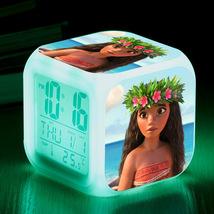 Disney Moana #10 Led Alarm Clock Figures LED Alarm Clock - $25.00