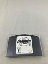 Madden NFL 2002, Game w/ End Label & Protective Sleeve, Nintendo 64 - $7.99