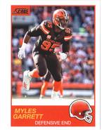 2019 Score #109 Myles Garrett Browns - $0.99