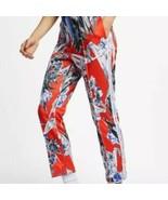 Women's Red Nike Hyper Femme Printed Slim Fit Joggers / Pants sz M - $66.69