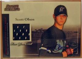 2004 Bowman Sterling # so Scott Olsen Au Jsy Rc - $20.38