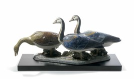 Lladro Porcelain 01012548 Egyptian Geese Limited Edition New Box 2548 - $1,839.85