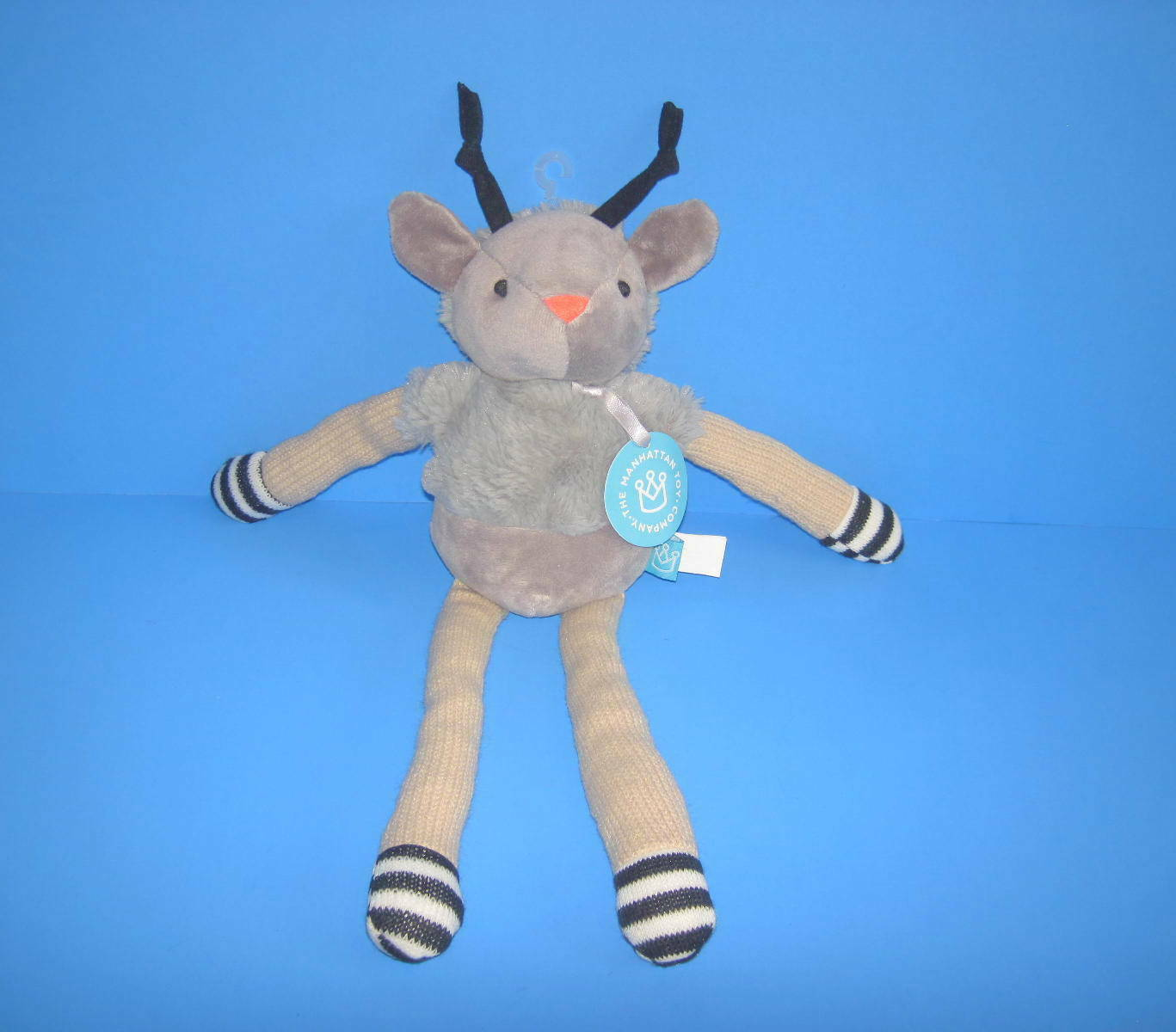 Primary image for 2017 MANHATTAN TOY TWIGGIES SAMMY DEER PLUSH BEAN BAG TOY NEW 15""