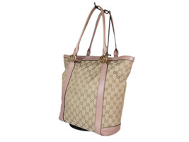GUCCI GG Pattern Canvas Leather Browns Shoulder Bag / Japan Exclusive GS... - $349.00