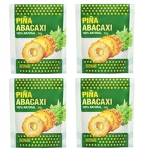 Natural Dried Pineapple Slices Unsweetened Dehidrated 4 Pack Spices of the World - $29.99