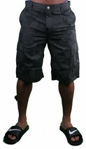 LRG CC Classic Black/Camouflage Cargo ShortsJeans  Size: 28