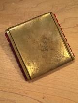 40s KLIX gold squeeze-open makeup compact image 7