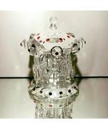 1 (One) GODINGER SHANNON Cut Crystal Carousel Merry-Go-Round Figurine NE... - $40.60