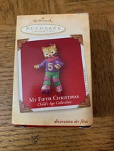 My Fifth Christmas Ornament - $29.58