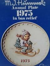 "Hummel TMK-5, 1975 7.5"", 5th Annual Collector Plate, Ride Into Christmas... - $13.34"