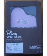 Play Wonder Piano Set - BRAND NEW IN BOX - CUTE DOLLHOUSE PIANO SET WITH... - $26.72