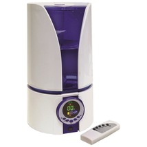 Comfort Zone 1.1 Gallon Ultrasonic Cool Mist Humidifier HBCCZHD81 - $70.16