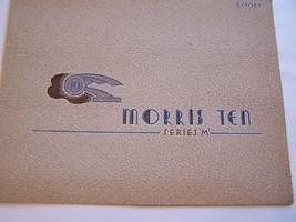 1946  MORRIS  OWNERS  SALES BROCHURE 1947  - $59.99