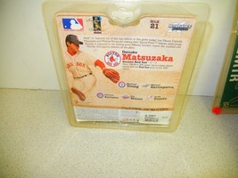 MCFARLANE SPORTS FIGURE- BOSTON RED SOX - DAISUKE MATSUZAKA - BRAND NEW- L200 image 2