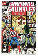 Infinity Gauntlet #2 mcu 1991 -Thanos- Warlock- George Perez- Starlin NM- - $18.92