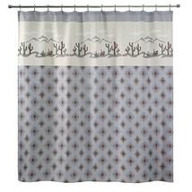 Avanti Sante Fe Fabric Shower Curtain Southwestern Motif - $32.66