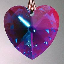 Swarovski Crystal Faceted Heart Prism image 8