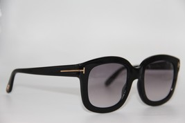 TOM FORD TF 279 01B CHRISTOPHE BLACK GRADIENT AUTHENTIC SUNGLASSES 53-23... - $227.05